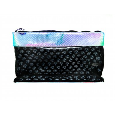 W7 Blue Iridescent Mermaid Clear Bag 1 stk