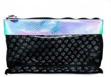 W7 Blue Iridescent Mermaid Clear Bag 1 stk