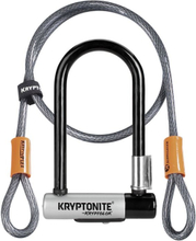 Kryptonite New-U Kryptolok Mini-7 Lås Inkl. ekstra kabel, 6/10 på sikkerhet