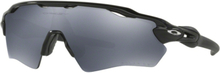 Oakley Radar EV XS Path Glasögon Polished Black/Black Iridium Polarized