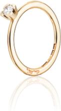 Efva Attling Love Bead Wedding Ring Guld 0,19 Ct