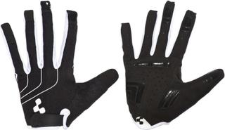 Cube Natural Fit Blackline Cykelhandskar svart/vit XXL 2017 Handskar för MTB