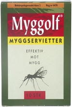 Myggolf 10-pack Myggservett 10 st