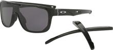Oakley Crossrange Shield Glasögon Polished Black/Warmgrey