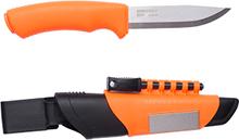 Morakniv Bushcraft Survival Kniv Orange, Rostfritt stål