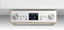 "Connect Soundchef Underliggande Köksradio Internet DAB+ UKW 2x3""-Högtalare Bok"