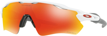 Oakley Radar EV Path Glasögon Polished White/Prizm Ruby