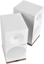 Tangent Spectrum X5BT - Højttalere - boghylde - trådløs - Bluetooth - 2-vejs - satin hvid