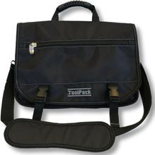 Toolpack Verktygs- och laptopväska Estimator svart 40x15x31 cm 360.046