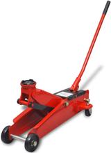 vidaXL Hydraulisk domkraft 3 ton röd