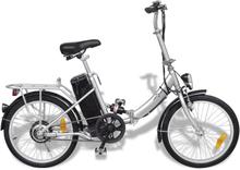 vidaXL Hopfällbar elektrisk cykel med litium-jon batteri