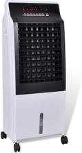 vidaXL Portabel luftkylare luftrenare och luftfuktare 8 L