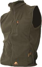 AlpenHeat Fire-Fleece Värmeväst Svart eller grön, med värmeceller