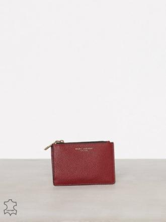 Kortholder - Maroon Marc Jacobs Top Zip Multi Wallet