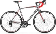 Kross Vento 1.0 Landsvägscykel Grå/Röd, 14 växel, Shimano, 9,8 kg