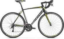 Kross Vento 2.0 Landsvägscykel Svart/Lime, 16 växlar, Shimano, 9,8 kg