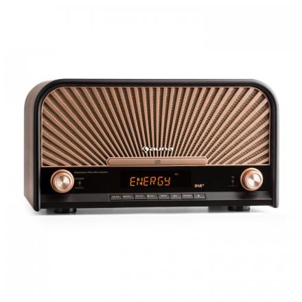 Glastonbury Retro-Stereoanläggning DAB+ FM Bluetooth CD MP3-spelare