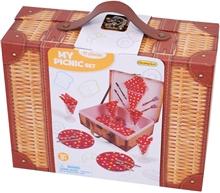 Pikniksett i Blikk 21 deler 1 set