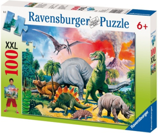 Ravensburger, Among the Dinosaurs, (100)