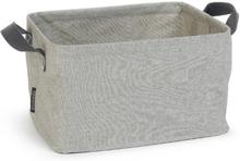 Brabantia Kokoontaitettava pyykkikori 35 litraa, harmaa