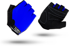 GripGrab X-Trainer Short Finger Gloves Kids blue L 2020 Cykelhandskar för barn