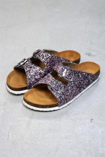 Bianco - Sko - Glitter Bio Sandal - Rose