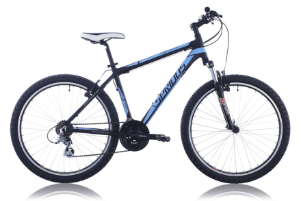 """Serious Rockaway etujousitettu maastopyörä, sininen/musta 55 cm (26"""") 2015 Lasten kulkuneuvot"""