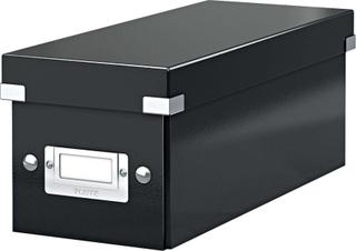 LEITZ CD-boks Click & Store/6041-00-95, hvid, 127x124x320mm, 1400g/qm