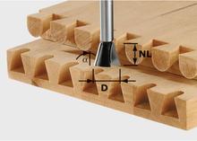 Festool Grad-/sinkfräs HW, 8 mm spindel HW S8 D20/26/10°