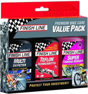 Finish Line Bike Care Value Pack 3 x 120ml Fargerik 2019 Tilbehør til felgbremser