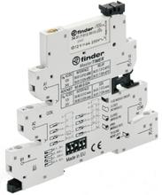 Finder 39.81.0.024.0060 Koppar-relä 24 V/DC, 24 V/AC 6 A 1 switch 1 st