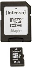 Intenso Intenso Micro SD 16GB UHS-I Premium