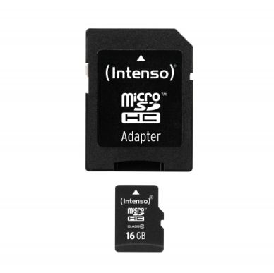 Intenso Intenso Micro SD 16GB Class 10