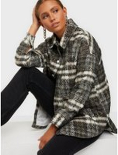 Missguided Bruched Checked Shacket Övriga Jackor