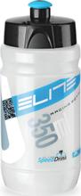 Elite Corsetta Drinking Bottle 350ml transparent/blue 2019 Vannflasker