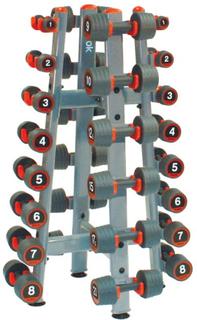 Reebok Dumbbell rack