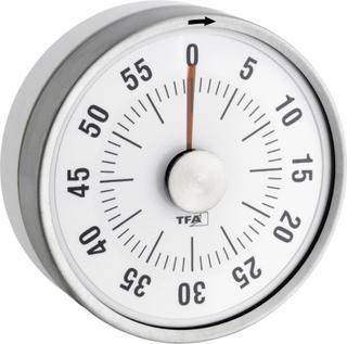 Timer TFA Dostmann Puck Hvid Analog