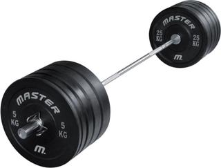 Master Skivstångsset Crossfit 170 kg