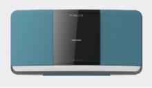 Grundig WMS 3000 BT DAB+ - Mikrosystem - 2 x 20 Watt - blå