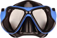 Waimea gummerad dykmask för vuxna svartkoboltblå 88DL