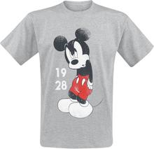 Mickey Mouse - Since 1928 -T-skjorte - gråmelert