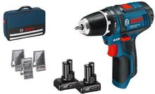 Bosch GSR 12 V-15 2X4,0Ah M/ACC