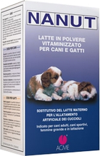 Nanut Milchpulver, vitaminisiert fur Hunde und Katzen 500g