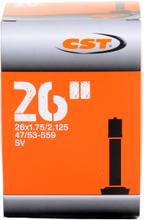 CST 26X1.75-2.125 AV Slang Butyl, MTB, 26 x 1.75/2.125, bilventil