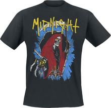 Midnight - Bone Coffin -T-skjorte - svart