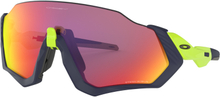 Oakley Flight Jacket Glasögon Matte Navy/Prizm Road