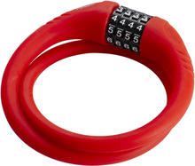 Red Cycling Products High Secure Silicon Cable Lock red 2020 Kombinationslås