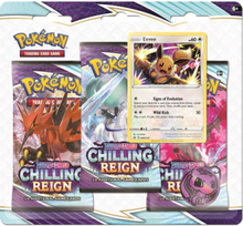 3-pack Boosters - Sword & Shield Chilling Reign