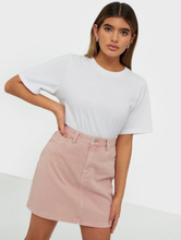 Vero Moda Vmkate Hr Short Denim Color Skirt Vaalea pinkki