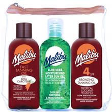 Malibu Reise-Set Tanning Öl & After Sun 3 x 100 ml